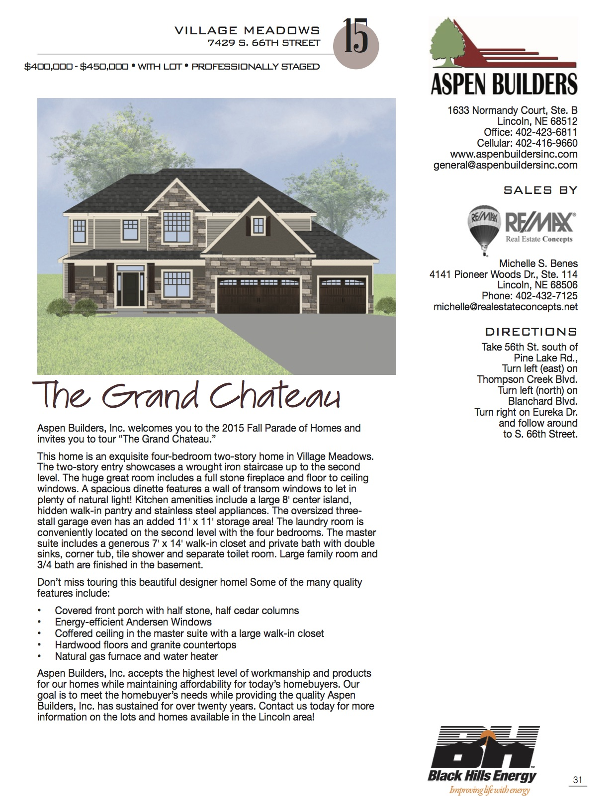 Parade of Homes | Aspen Builders - Premiere Custom Home Builder
